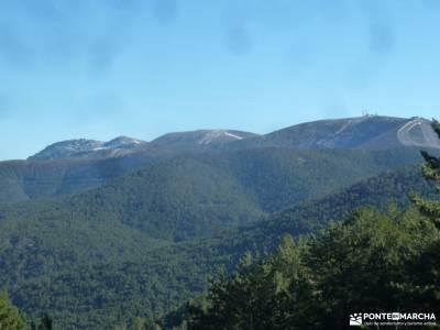Calzada Romana - Fuenfría; rutas por la sierra rutas madrid a pie rutas para caminar excursiones gu